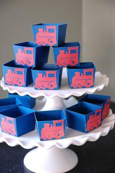 train party favor boxes