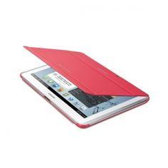 Oryginalne etui do Samsung Galaxy Tab 2 [10.1 cala]. Ochrania i zapewnia wygodę w codziennym użytkowaniu tabletu. Funkcja nachylenia ułatwia pisanie, albo oglądanie filmów i zdjęć, gdziekolwiek jesteś.  Produkt w kolorze różowym.