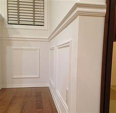 DIYもできるモールディングで海外風のお洒落なインテリアへ! My Home Design, Design Lab, Life Design, House Design, Wall Molding, Moulding, Modern Baroque, English Interior, Window Casing