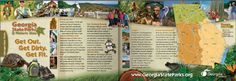 Georgia Outdoor Guide goguide-layout13 - John Kennedy McCray - CreativeMultimedia  Director John Kennedy, Direct Action, Mass Communication, 15 Years, Getting Out, Creative Director, Multimedia, State Parks, Profile