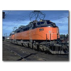 Milwaukee Road boxcab, electric Post Cards