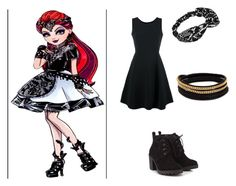 """""""Mira shards outfit"""" by fashionfabulous4eva on Polyvore featuring Emporio Armani, Red Herring and Vita Fede"""