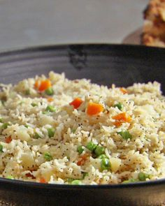 Vegetable Biryani (Recipe should read 6 cloves of garlic, as shown in the video, not 6 cloves !... Makes a BIG difference in the taste !... LOL...)