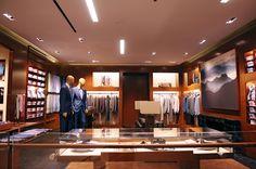 Ermenegildo Zegna new flagship store in Brisbane, Australia