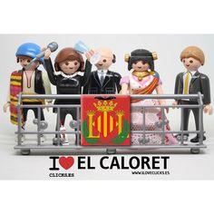 ¿Como alguien vuelva a poner en duda el valenciano autóctono de la #vegabaja? #fandelcaloret #caloret #ritabarbera #crida2015 #fallas #fallera #playmobil