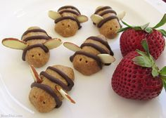 No bake bee cookies that would be perfect for a Winnie the Pooh Party!