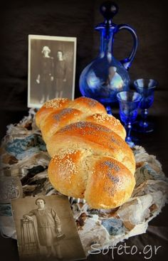 Τα τσουρέκια αλά Sofeto , αφράτα και μοσχομυριστά , με αλεύρι ολικής αλέσεως , χωρίς ζάχαρη! Stevia, Healthy Desserts, Bagel, Cooking Recipes, Bread, Snacks, Cookies, Food, Easter