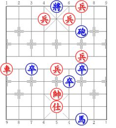 Blue first. Win Draw or Lose? Can you try it? #chess #xiangqi #chinesechess #midendgame Xanh tiên. Thắng Hòa hay Thua? Mời bạn thử sức? Trích từ: Cờ thế hay Fen: 4k1P2/3P1P3/6c2/9/6P2/R1p1P1p2/5p3/4K4/4A4/6n2