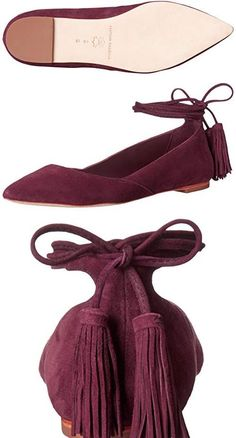 These shoes are really cute but because of the very pointed toe, had to order a full size larger than my normal size 9.