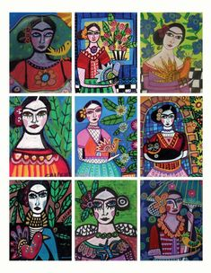 Frida. Love. Beautiful idea!