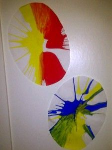 Easter Craft - Spinner Painting