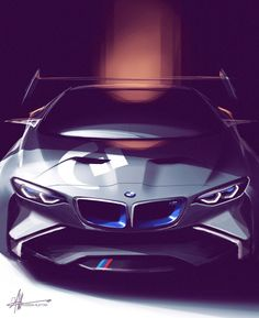BMW Vision Gran Turismo Concept by Hussein Alttar