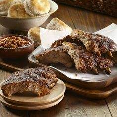 A dry rub of barbecue seasoning, garlic salt, parsley and chipotle chili pepper brings great flavor to these easy-to-make Memphis Style Ribs.