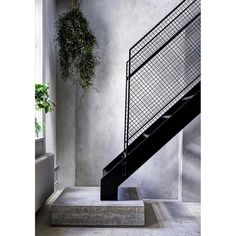 "873 Likes, 4 Comments - Mancini Made (@mancinimade) on Instagram: ""Staircase Inspiration // Absolutely love this perforated steel staircase complimented by concrete…"""