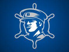 Bethel Pilots by Matt Kauzlarich - Dribbble Food Stall Design, Marine Officer, Logo Face, Esports Logo, Team Mascots, Logo Inspiration, Bethel College, Pilot, Logo Design