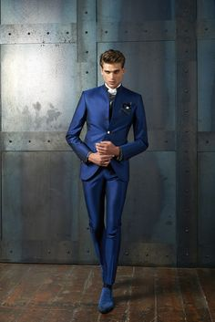 #CleofeFinati by Archetipo 2015 Men's Collection - Suit Mod. 15.1227 b01 - fabric 1309/33
