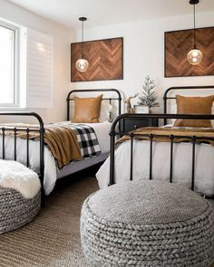 Two Twin Beds Make . Two Twin Beds Make . Should You Enjoy Bedroom Accessories A Person Will Love This Two Twin Beds, Iron Twin Bed, Twin Beds For Boys, Home Bedroom, Boys Bedroom Decor, Bedroom Stools, Cottage Bedrooms, Bedroom Colors, Boys Shared Bedroom Ideas