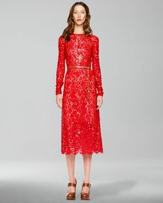 Lace Dress by Michael Kors at Neiman Marcus.  Orig. $9,995, Evening Dash: $4,497