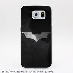 1022U Shadow Logo Batman <font><b>Dark</b></font> Knight Hard Case Transparent Cover for Galaxy S2 S3 S4 S5 & Mini S6 S7 & Edge Plus #clothing,#shoes,#jewelry,#women,#men,#hats,#watches,#belts,#fashion,#style