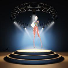 """Vogue"" by Anaïs.R Site: www.anaiscreations.book.fr FB: Anaïs.R créations"