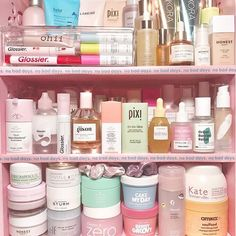 How amazing is this from It's the perfect reminder to treat-yo-self (and your skin) to some well-deserved goodies. Beauty Care, Beauty Skin, Face Beauty, Clear Skin Tips, No Bad Days, Les Rides, Face Skin Care, Aesthetic Makeup, Shelfie