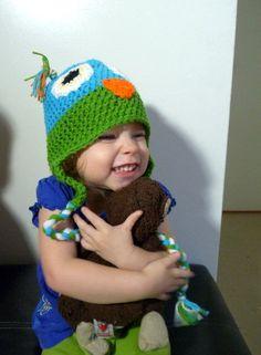 Owl Hat baby boy hat baby girl hat baby hat by LittleMommaBoutique, $20.00