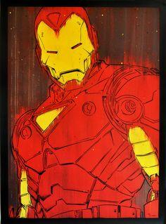 Iron Man byMichael Latimer