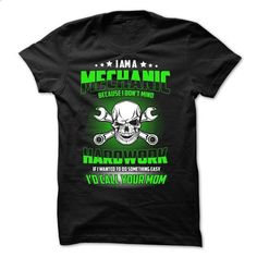 MECHANIC - #tshirt print #wrap sweater. SIMILAR ITEMS => https://www.sunfrog.com/Jobs/MECHANIC-76257958-Guys.html?68278
