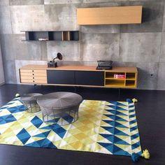 collection Aura by Treku en vente chez Inextoo Labege et Toulouse Tv Furniture, Simple Furniture, Cabinet Furniture, Furniture Design, Living Room Partition, Living Room Tv, Flat Interior, Interior Design, Tv Decor