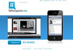 Captura pantalla homepage QReconigzeme