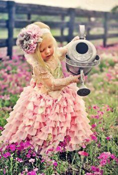 Precious Child ~ in the garden