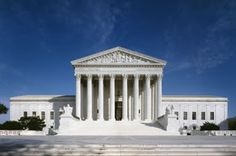 Information on the US Supreme Court - West front view of  the Supreme Court Building
