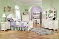 Set Kamar Tidur Cat Duco Warna Putih