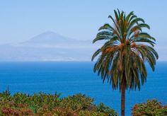 Agulo, La Gomera, con vistas a Tenerife