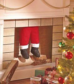 Santa Legs Hanging Coming Down the Chimney Lakeside http://www.amazon.com/dp/B00NT5FUSA/ref=cm_sw_r_pi_dp_g3vvub08AK8ZS