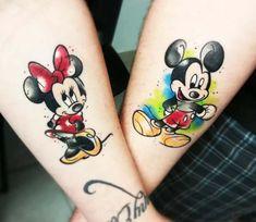 Mickey and Disney Tattoos to Get Inspired - I Think Trend tatuagem tatuagem cascavel tatuagem de rosa tatuagem delicada tatuagem e piercing manaus tatuagem feminina tatuagem moto clube tatuagem no joelho tatuagem old school tatuagem piercing tattoo shop Mickey Tattoo, Mickey And Minnie Tattoos, Trendy Tattoos, New Tattoos, Body Art Tattoos, Tattoos For Women, Disney Tattoos Small, Small Tattoos, Tattoo Disney