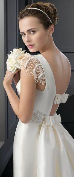 Vestido de noiva super delicado! Rosa Clara 2015 #noivasemny