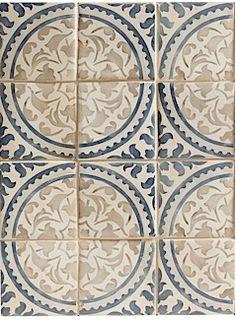 Walker Zanger: Alba Decorative Field Tile | Mezzanotte