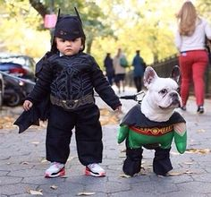 I Think This Is The Cutest Batman and Robin Ever!!!