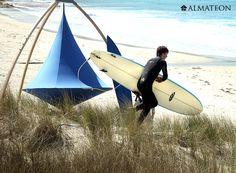 A la plage ou à la campagne, emportez votre Cacoon partout.