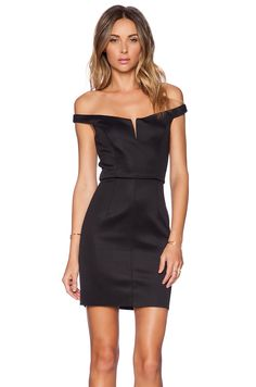 7ef9530b4c5a Shop for Shakuhachi Off Shoulder Mini Dress in Black at REVOLVE.