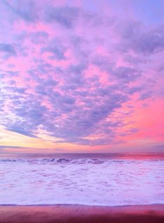 pink, sky, and beach 이미지