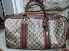 Gucci Vintage Travel Bag