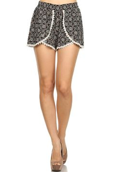 Breeze Ever Woven Aztec Shorts