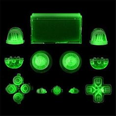 14 Colors Custom Solid Full Buttons Mod Kit For Sony Play Station 4 PS4 Dualshock 4 Wireless Controller R2 L2 R1 L1 Buttons