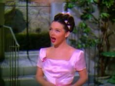 And I now interrupt your peaceful pinning to bring you Kathryn Grayson in Waltz Serenade (from Anchors Aweigh - 1945). Annoying, yet beautiful. Kathryn Grayson >>>
