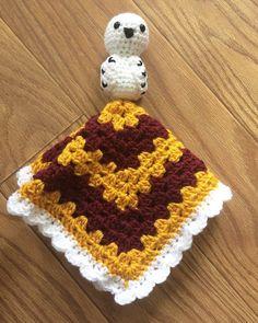 This item is unavailable Harry Potter Plush, Harry Potter Scarf, Harry Potter Crochet, Harry Potter Nursery, Crochet Security Blanket, Crochet Lovey, Baby Security Blanket, Baby Blanket Crochet, Lovey Blanket