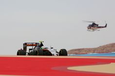 Alfonso Celis Jr has admitted backing off after a hairy moment during his Formula 1 debut for fear of failing to bring his Force India back in one piece Force India, Back Off, One Team, Formula One, Grand Prix, F1, Circuit, In This Moment