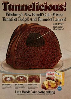 Pillsbury Tunnel Cakes from the '80s