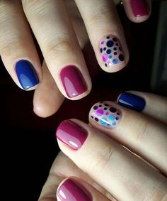 Want some ideas for wedding nail polish designs? This article is a collection of our favorite nail polish designs for your special day. Blue Nail Polish, Blue Nails, My Nails, Polish Nails, Elegant Nail Designs, Elegant Nails, Nail Polish Designs, Nail Art Designs, Nails Design